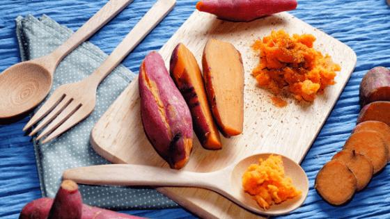 ăn khoai lang luộc giảm cân