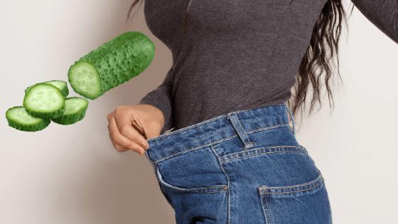 giảm cân bằng dưa chuột