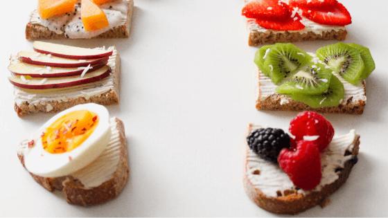 giảm cân với trứng và táo