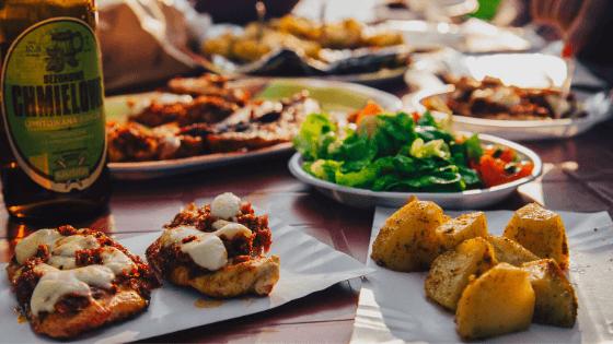 khoai tây nướng giảm cân